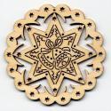 Baumbehang-Stern mit Glocke