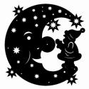 Mond mit Nikolaus
