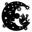 Mond mit Reiterlein