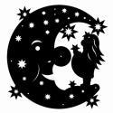 Mond mit Sterntaler