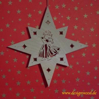 Weihnachtsstern-8eckig-Engel