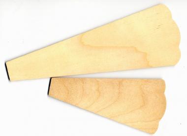 Flügelblatt E-Blattlänge 160mm