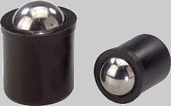 federnde Kugelspitze, Kunststoff