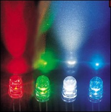 LED, ultrahell 3mm gelb