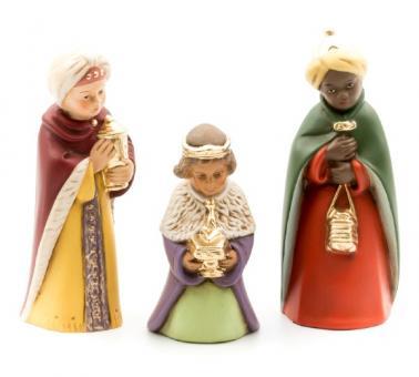 Heilige Drei Könige 13cm-bemalt