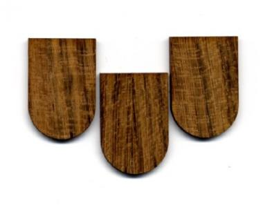 Holzschindeln-Teak
