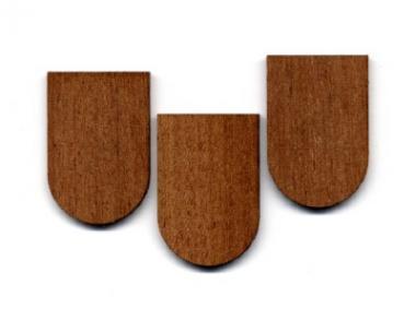 Holzschindeln-Mahagoni