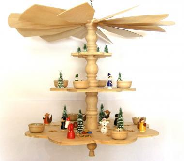 Advent-Deckenpyramide Weihnachtszeit