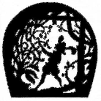 Dornröschen 19x19cm