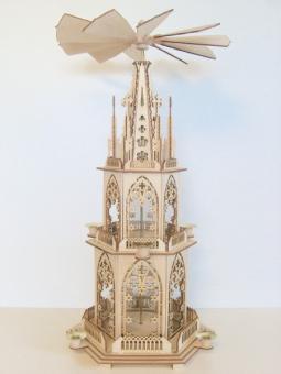 FBS-Gotische Pyramide 60cm