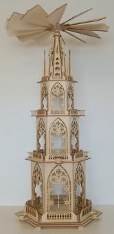 FBS-Gotische Pyramide 84cm