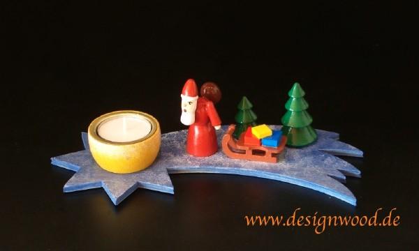 Teelichthalter-Weihnachtsmann-farbig