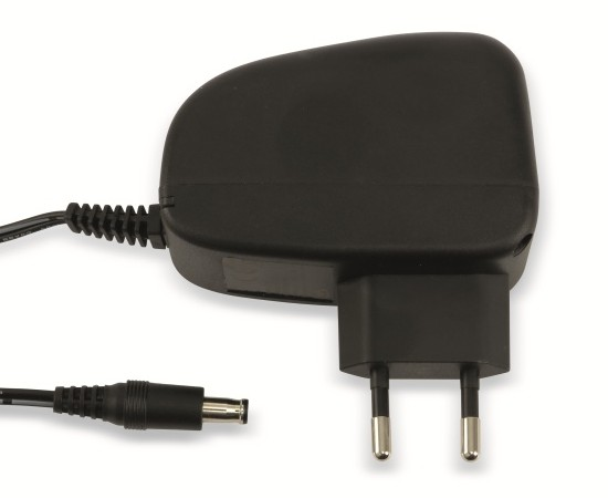 Steckernetzteil 12V=/1mm, 1500mA, schwarz