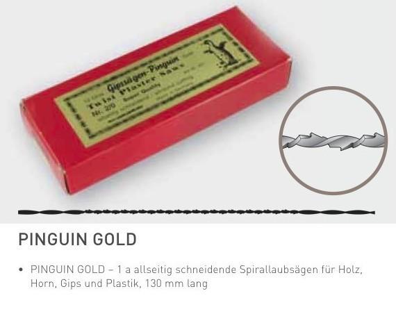 """Gros-LS-Blätter """"NIQUA Pinguin Gold"""""""