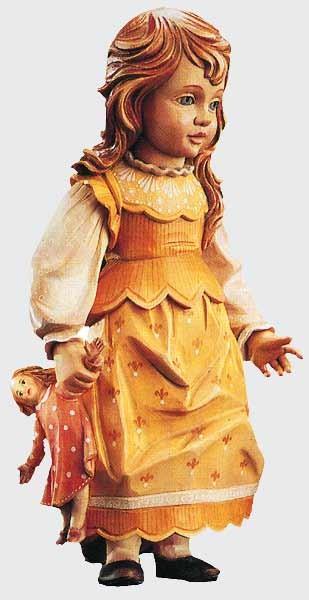 Holzpuppe Elisabeth 10cm