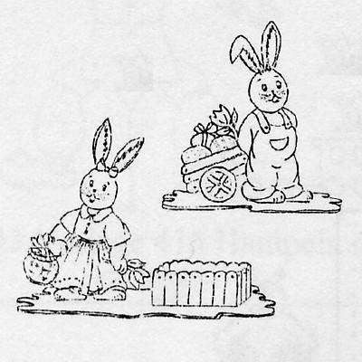 Laubsägezubehör Aus Dem Erzgebirge Ostern Osterfiguren 8